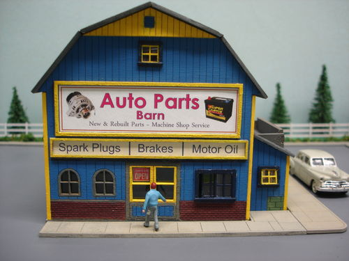PDM 2027 HO scale Auto Parts Barn